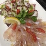 VINO NAKADA - 新鮮な海の幸のカルパッチョ (ご予約で承ります)