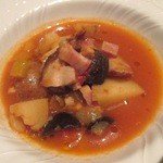 エクウス - 野菜スープ