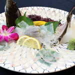 魚杳 - 料理写真:ひらめの活き造り
