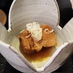 そば茶房  紗菜花 - 霧島御膳につく、豚のやわらか煮(あまり柔らかくありませんでした^^;)