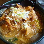 らぁめん銀波露 - ぱいくぅ麺 醤油 850円