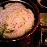 福 - 豚バラ肉と白菜の重ね蒸し