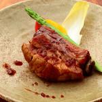 あしあと - 和と洋のコラボ料理『煮込スペアリブオーブン焼き和風ソース 』