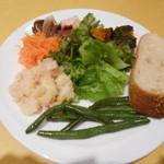 ロマンツァ - 前菜とパン