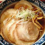博多 那の福 - 煮干しチャーシューメン