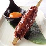 山陰旬華 新鮮組  - 自家製大山鶏のつくね。人気商品です!