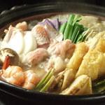 山陰旬華 新鮮組  - 塩チャンコ鍋。季節無視!年中あります
