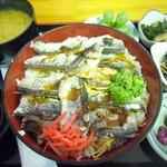海陽 - トギなしはたはた焼き飯寿司丼 \1500