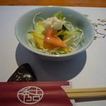 秀吉 - サラダ(お昼のミニ会席)