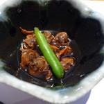 秀吉 - モガイの煮物(お昼のミニ会席)