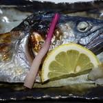 秀吉 - 鰆のかぶとの焼き物(お昼のミニ会席)