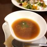 夢厨房 - ランチのスープ