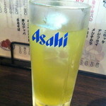 こちら西区高島裏横浜炭焼所 - 緑茶ハイ 330円