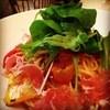 Ms.Plate - 料理写真:完熟トマトとお野菜でさっぱりと♪