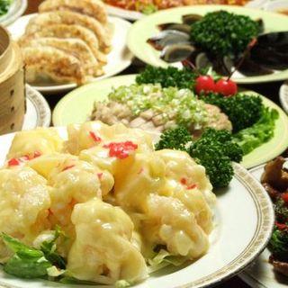 本格的な広東四川名菜90種を食べ放題でお楽しみ頂けます!