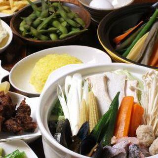 美味しい野菜を使った料理をお楽しみください。