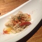 チーズレストラン DAIGOMI - 蒸し鶏のアーリオ・オーリオ