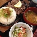 菅田庵 - 料理写真:飛騨牛のスパイシーソース