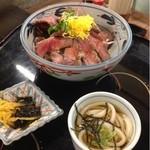 菅田庵 - 飛騨牛鉄火丼  1800円