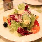 一汁三菜イタリア~の shark - 気まぐれサラダ イタリア風
