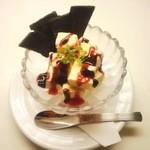 ガーリックチップス - ドルチェ(アイスチーズキューブ)