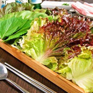 ヘルシー韓友家 - 新鮮な野菜
