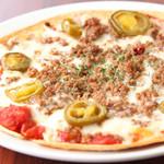 メキシカン サボ - 辛みを効かせた一番人気の『メキシコピザ』