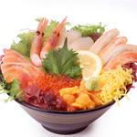 阿波水産12種の海鮮丼定食