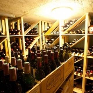当店地下ワインセラー