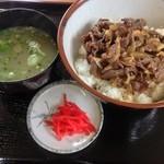 西表島 グリーンファーム 猪狩家 - 牛丼¥800