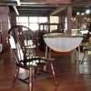 Sashimonohamaichi - 内観写真:この奥がカフェ