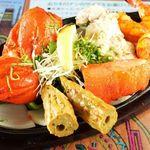 マウントエベレストレストラン - ◆食べごたえ十分のミックスグリル♪