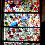 21528306 - 天井のグラス 陽を透してキラキラ