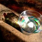 21528320 - お水 ガラスのコップがとってもかわいい♥