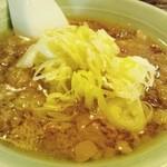 21529492 - 牛汁(牛スジのスープ)