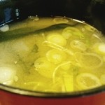 21529493 - ランチの味噌汁
