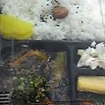 スリーエスしばた - 料理写真:麻婆茄子弁当298円