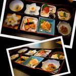 21530431 - 松花堂弁当¥1,800-、+¥200-で栗おこわに