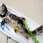 大滝ドライブイン 泉や - 岩魚(焼魚)