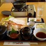 海鮮レストラン シピリカ - 料理写真:カニしゃぶ定食