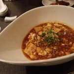 中国料理 桃翠 - ピリ辛マーボー豆腐。