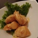 中国料理 桃翠 - 海老のマヨネーズ炒め。