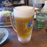 高砂 - 生ビール 500円