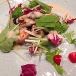 新和食 はな - 鮭とキノコのソテー
