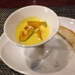 新和食 はな - 南瓜と玉葱のスープ