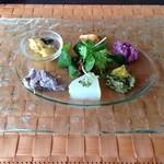 ラ・ボッカ - ランチA 1,680円前菜盛り合わせ