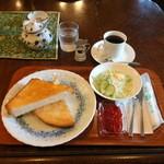 沙羅 - モーニングセット600円