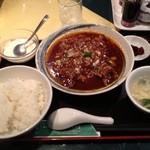 21537505 - 牛肉の四川煮定食