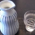 出雲そば だんだん - お酒は島根のヒカミ正宗 1合で550円