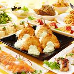 海の厨 膳丸 - 13品の宴 飲み放題付き 4000円